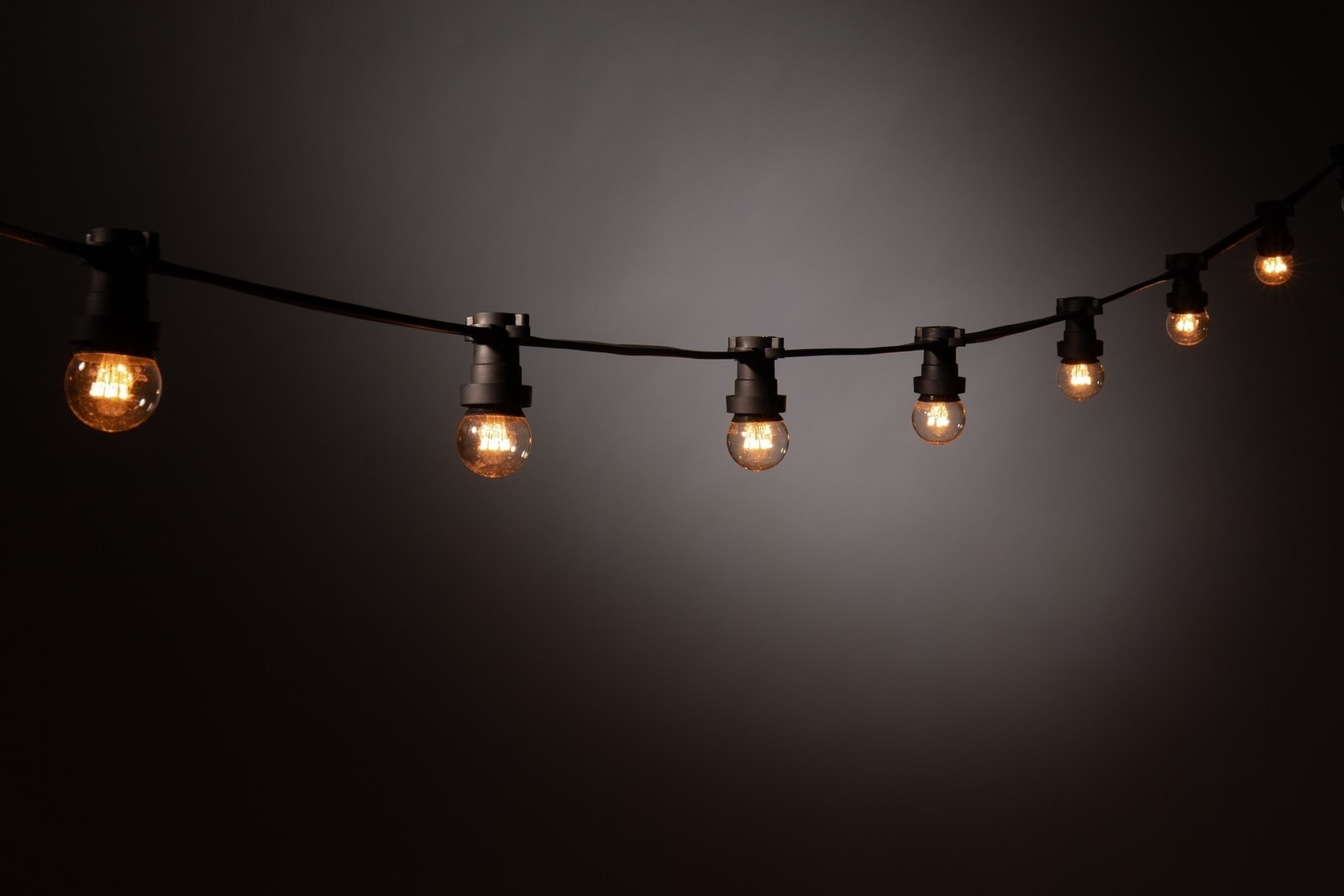 Prikkabel LED lamp • Warm wit • Heldere bol » Kerstverlichting Buiten