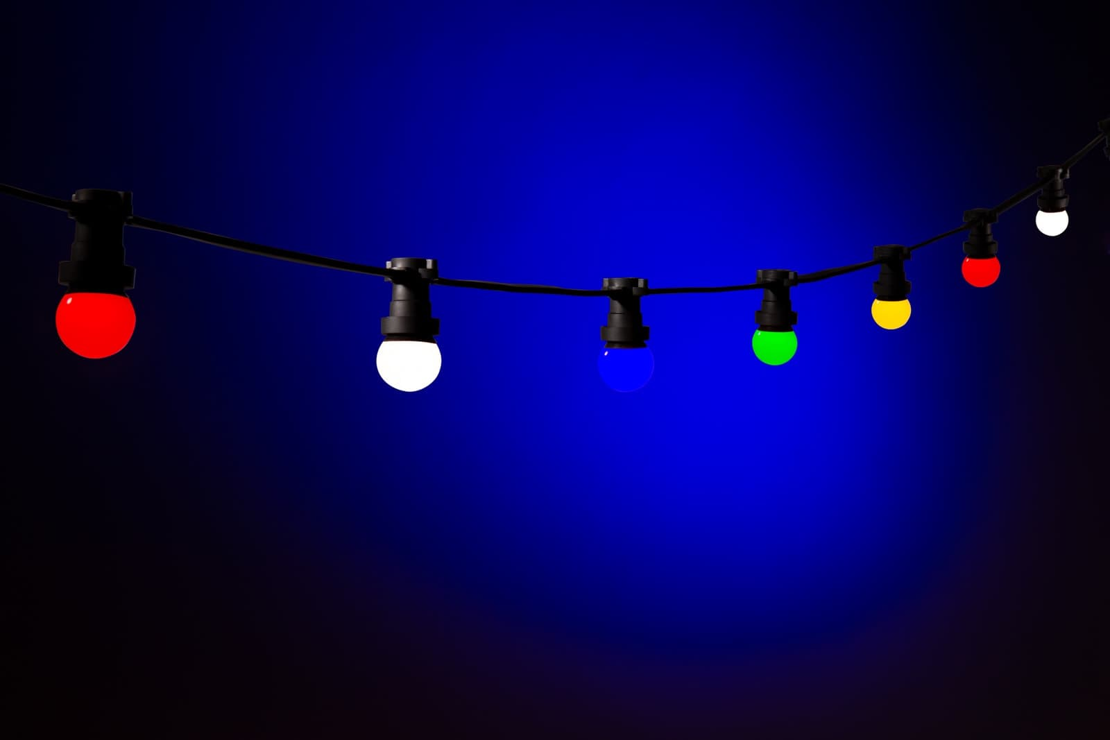 Gekleurde Led Lampen : Gekleurde lampen multicolor bolletjes · koppelbaar systeem handig