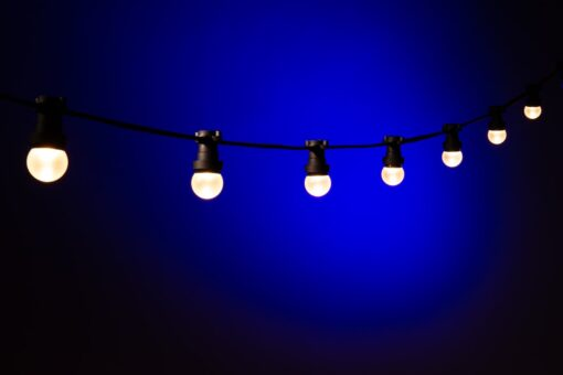 Lichtsnoer Buiten Warm Wit Matte Bol Koppelbaar Systeem Handig