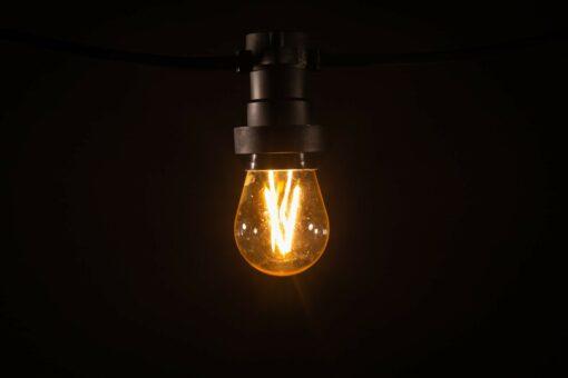 prikkabel led lamp filament dimbaar