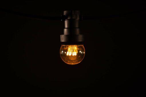 prikkabel led lamp klassiek warm wit