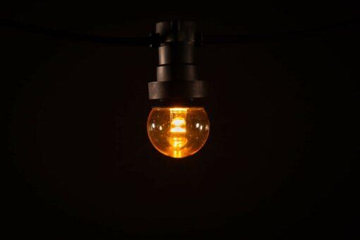 prikkabel led lamp klassiek warm wit lens