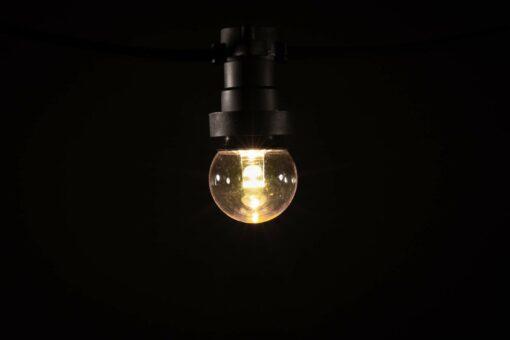 prikkabel led lamp modern warm wit lens