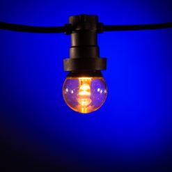 prikkabel led lampen klassiek warm wit lens