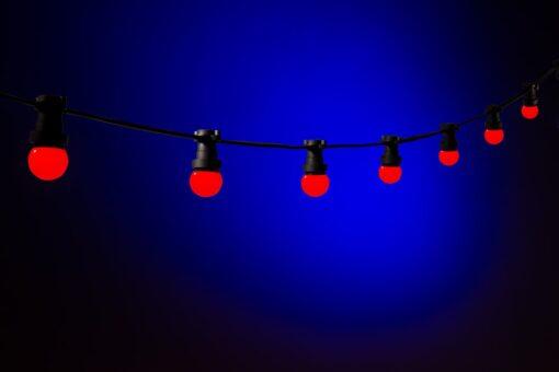 prikkabel rood