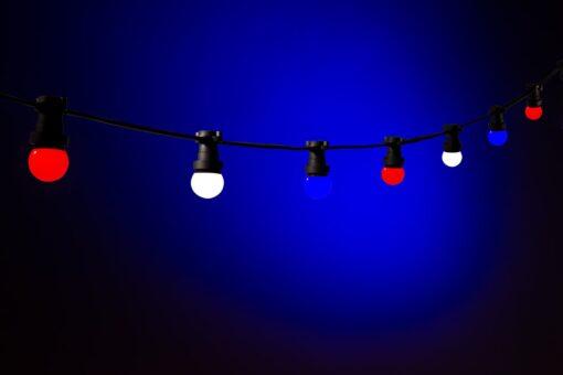 rood wit blauw versiering