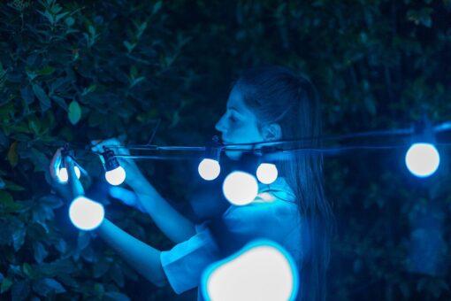 sfeerverlichting buiten twinkly