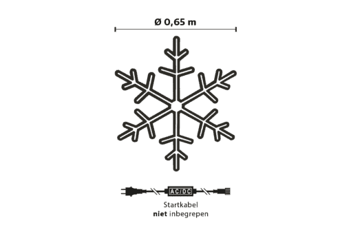 sneeuwvlok verlichting