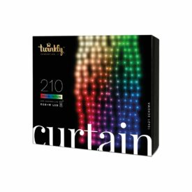 twinkly curtain lichtgordijn 210 rgbw