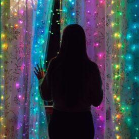 twinkly lichtgordijn led