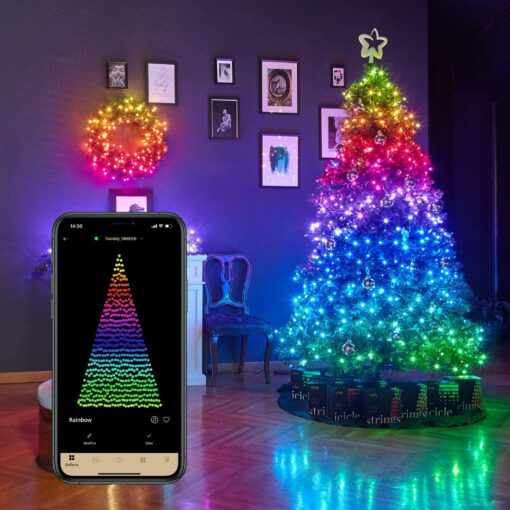 twinkly lights multicolor