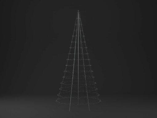 twinkly vlaggenmast kerstboom 6 meter