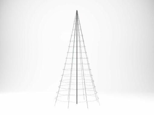 twinkly vlaggenmast-kerstverlichting 6 meter
