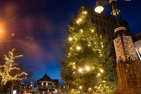 verlichting voor grote kerstbomen
