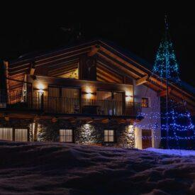 vlaggenmast kerstbomen