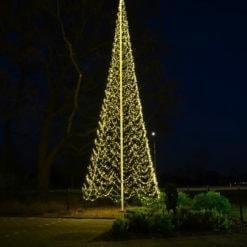 vlaggenmast kerstboom 12 meter