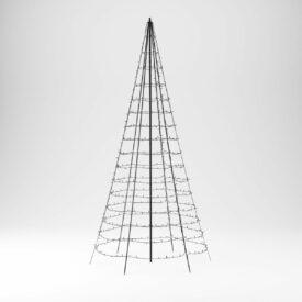 vlaggenmast kerstboom 3 meter twinkly
