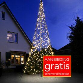vlaggenmast kerstboom 6 meter