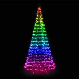 vlaggenmast kerstboom 6 meter twinkly
