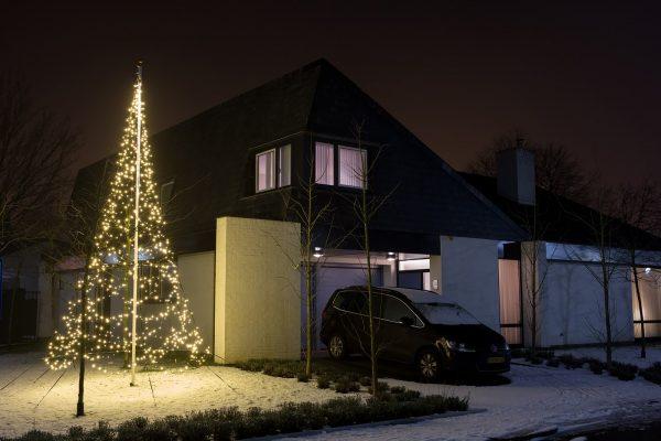 vlaggenmast kerstboom 7 meter