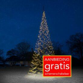 vlaggenmast kerstboom 8 meter