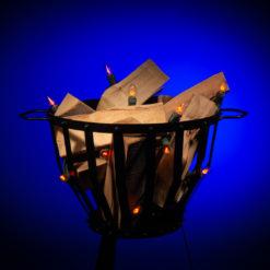 vlamverlichting voor vuurkorf