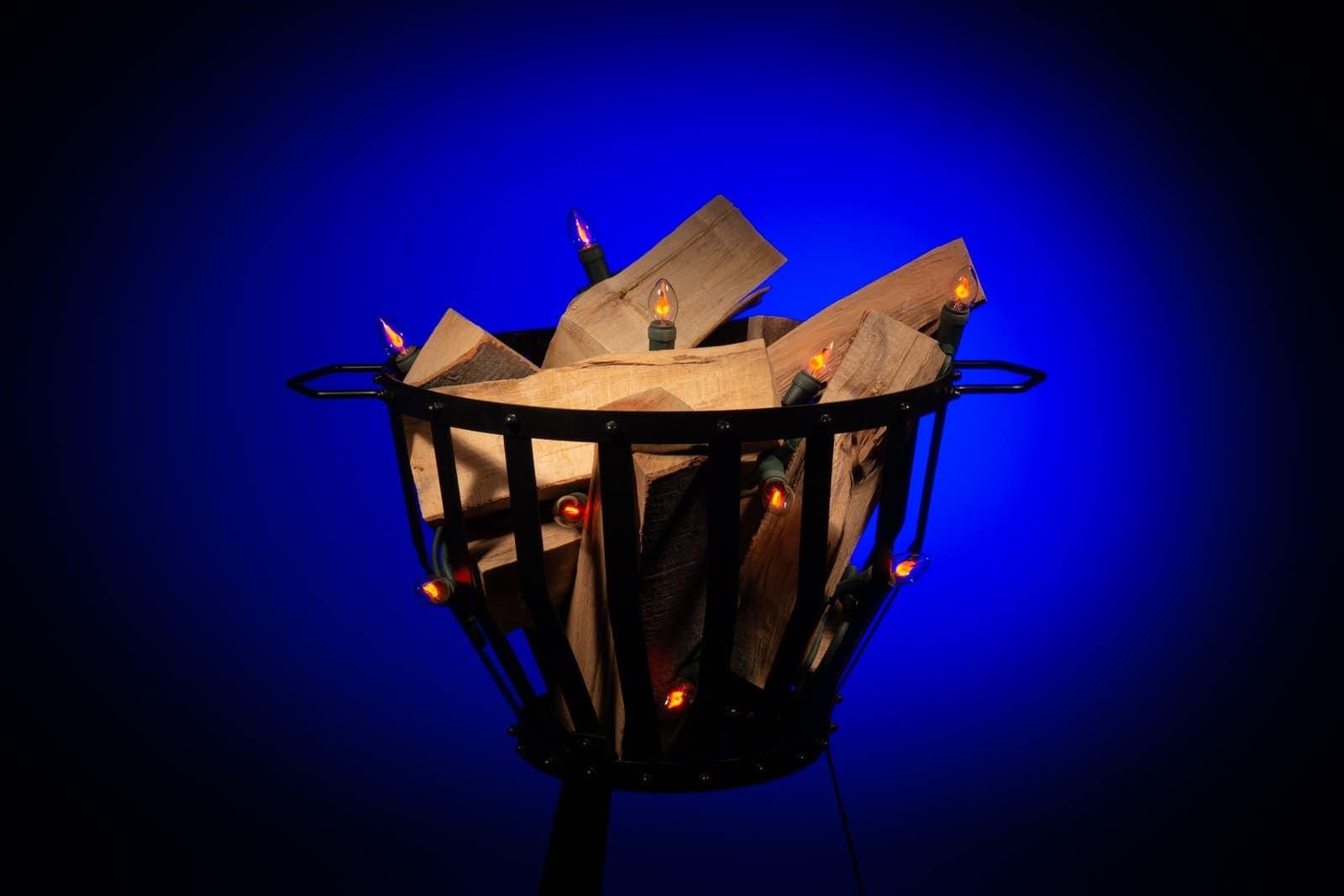 Vlamverlichting • 10 lampjes • 4 meter » Kerstverlichting Buiten