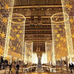 winkelcentrum kerstverlichting